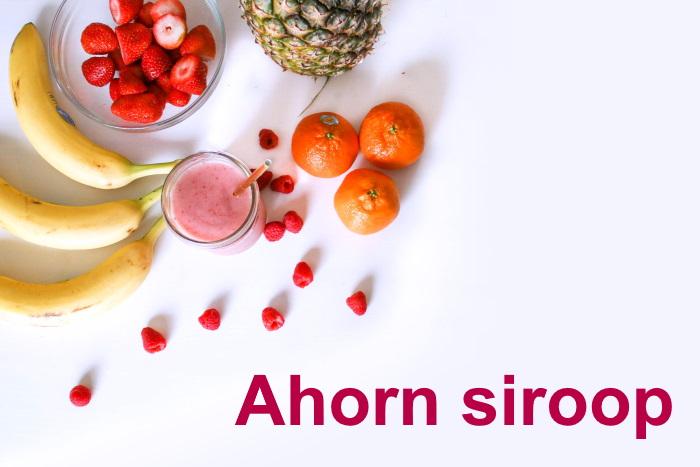 Ahorn siroop